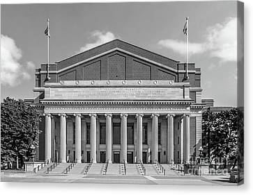 University Of Minnesota Canvas Print - University Of Minnesota Northrop Auditorium by University Icons