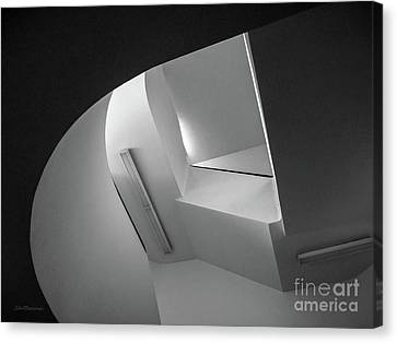 University Of Minnesota Canvas Print - University Of Minnesota Stairwell by University Icons