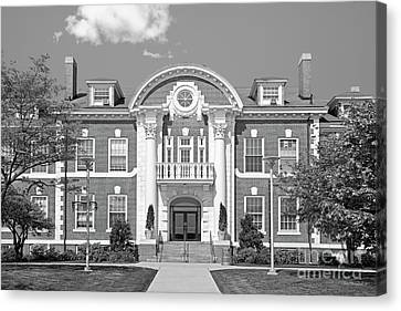 University Of New Haven Maxcy Hall Canvas Print by University Icons