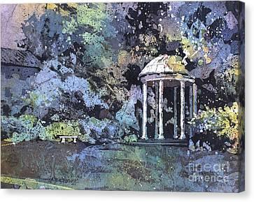 University Of North Carolina Well Canvas Print