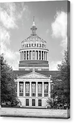 University Of Rochester Rush Rhees Library Canvas Print by University Icons