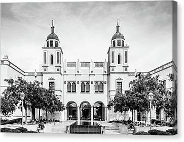University Of San Diego Institute For Peace And Justice Canvas Print by University Icons