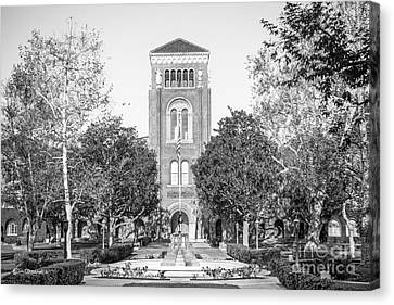 University Of Southern California Admin Building Canvas Print by University Icons