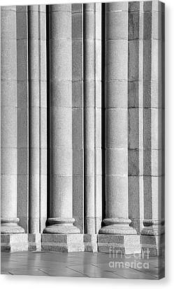 University Of Southern California Columns Canvas Print by University Icons