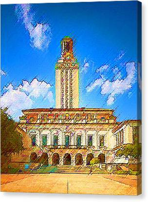 University Of Texas Canvas Print