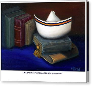 University Of Virginia School Of Nursing Canvas Print by Marlyn Boyd