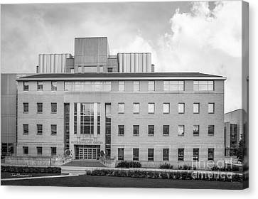University Of Wisconsin Biotechnology Center Canvas Print by University Icons