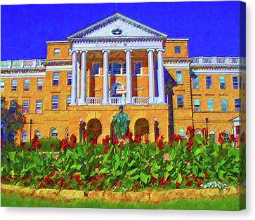 University Of Wisconsin  Canvas Print