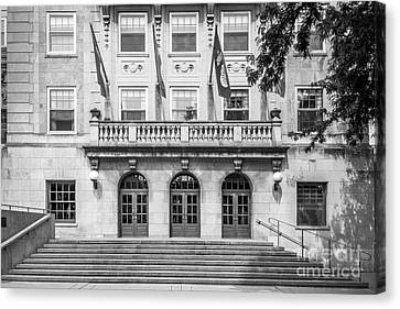 Union Terrace Canvas Print - University Of Wisconsin Madison Memorial Union by University Icons