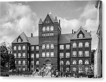 University Of Wisconsin Madison Science Hall Canvas Print by University Icons