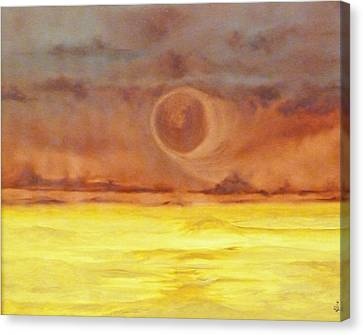 Unknown Planet Canvas Print by Cheryl Allin