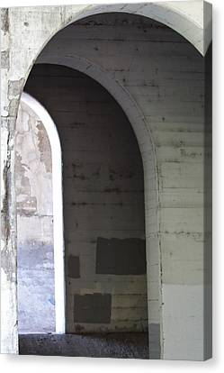 Canvas Print featuring the photograph Unknown Portal by Kate Purdy