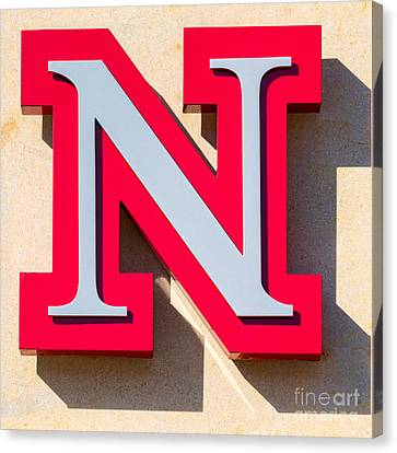UNL Canvas Print by Jerry Fornarotto