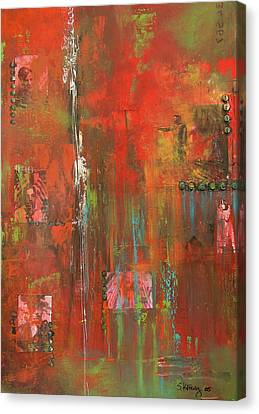 Unlikely Angels Canvas Print by Suzanne Kfoury