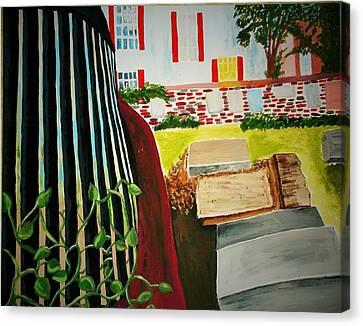 Unmarked Graves Canvas Print by Bhean Spiorad