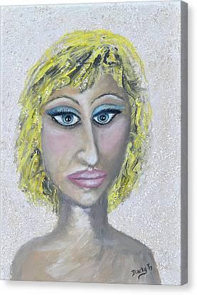 Unnatural Blonde Canvas Print