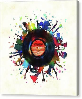 Unplugged Canvas Print by Mustafa Akgul