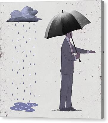 Unseen Storm Canvas Print