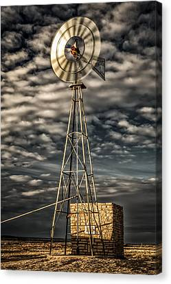 Abstract Canvas Print - Unseen Winds by Gary Migues