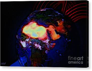 Welt Canvas Print - Unsere Welt 17025 by AndReaS KoVaR