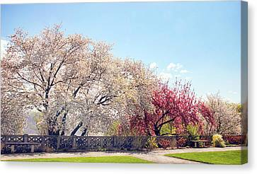 Untermyer Park Views Canvas Print by Jessica Jenney