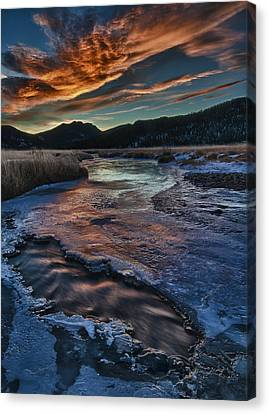 Until The Last Possible Moment Canvas Print by Mike Berenson
