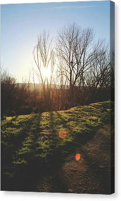 Winter Landscapes Canvas Print - Until We Meet Again by Laurie Search