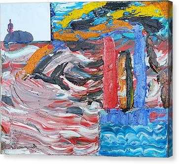 Concern Canvas Print - Untilited by Ronald Carlino Jr