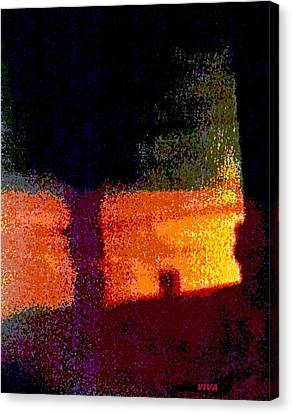 Untitled 1 - By The Window Canvas Print by VIVA Anderson