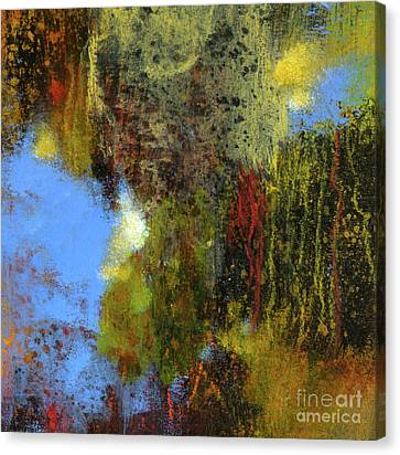 Untitled Abstract 1 Canvas Print by Melody Cleary