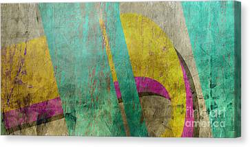 Untitled Abstract Canvas Print by Edward Fielding