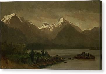 Untitled Canvas Print by Albert Bierstadt