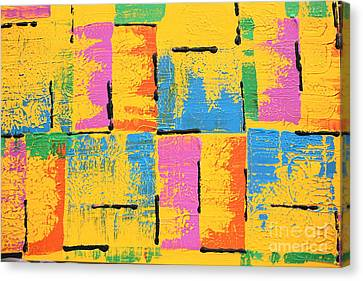Abstract I See You Canvas Print