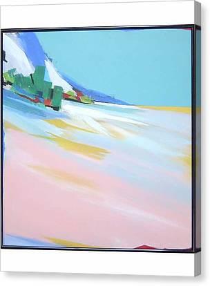 Untitled Landscape Canvas Print by M Jaquis