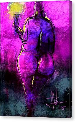 Untitled March 20 2015 Canvas Print by Jim Vance