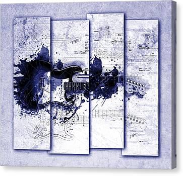 Strat Canvas Print - Untitled No. 2 by Gary Bodnar