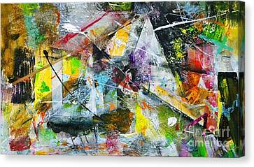 Canvas Print featuring the painting Untitled by Robert Anderson