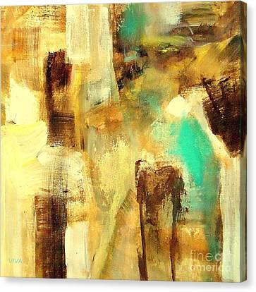 Impasto Horses Canvas Print - Untitled - Viva Anderson by VIVA Anderson