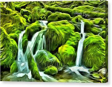 Untouched Nature - Da Canvas Print