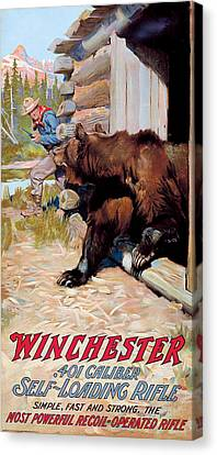 Unwelcome Visitor Canvas Print by Phillip R Goodwin