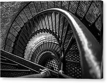 Unwind  - Currituck Lighthouse Canvas Print by David Sutton