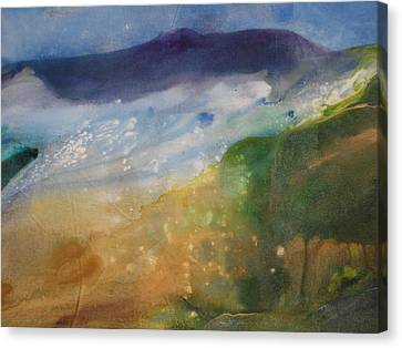 Unwind Here Canvas Print