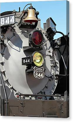 Up 844 Bell And Headlights Canvas Print