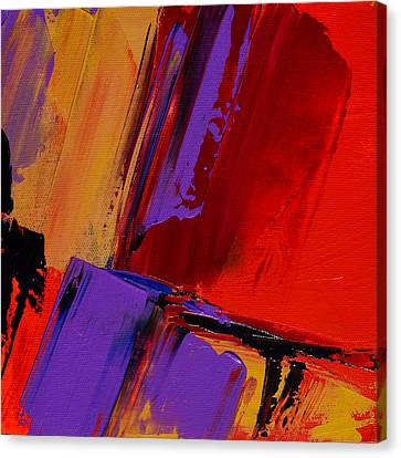 Canvas Print featuring the painting Up And Down - Art By Elise Palmigiani by Elise Palmigiani