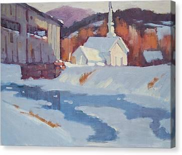 Up Arlington Way Canvas Print by Len Stomski