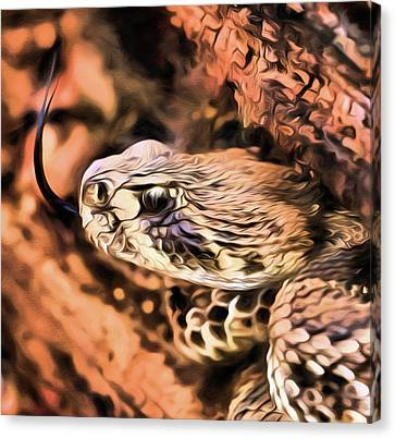Up Close With An Atrox Canvas Print