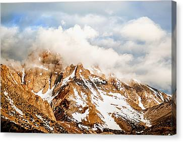 Up In The Clouds Canvas Print by Aron Kearney