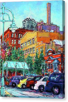 Up On Broadway Canvas Print