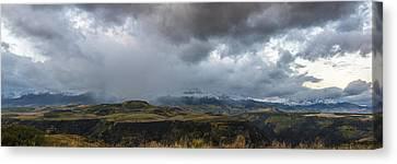 Up On The Ridge Canvas Print by Jon Glaser