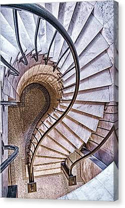 Up Or Down? Canvas Print